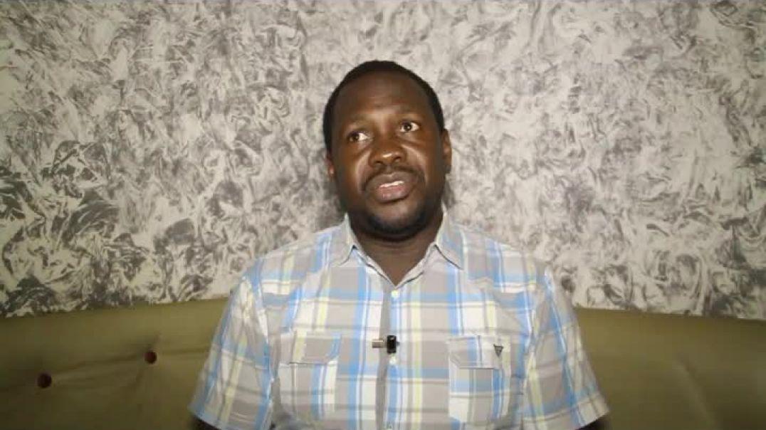 Cameroun  Confiné avec  Pascale Abunde président de PWD de Bamenda two  par Vincent Kamto