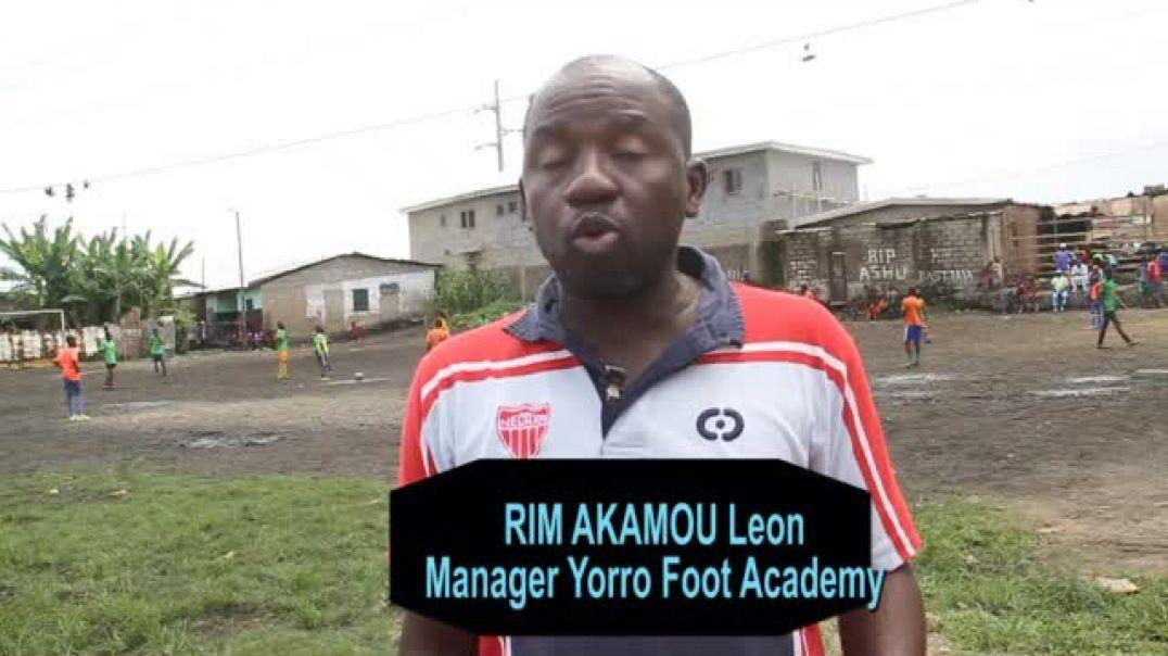 Cameroun Confiné avec Rim akoumou Leon coach de Yorro foot ball par Vincent Kamto