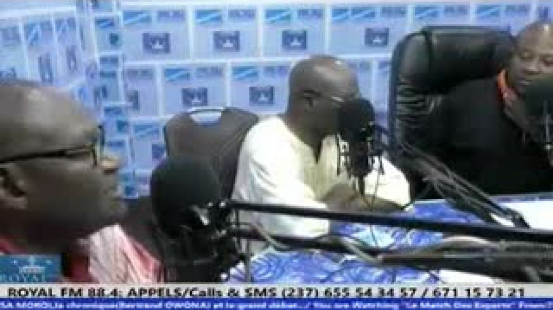 Don du chef de l'Etat MILLA recadre EBOA ELAME sur un plateau radio