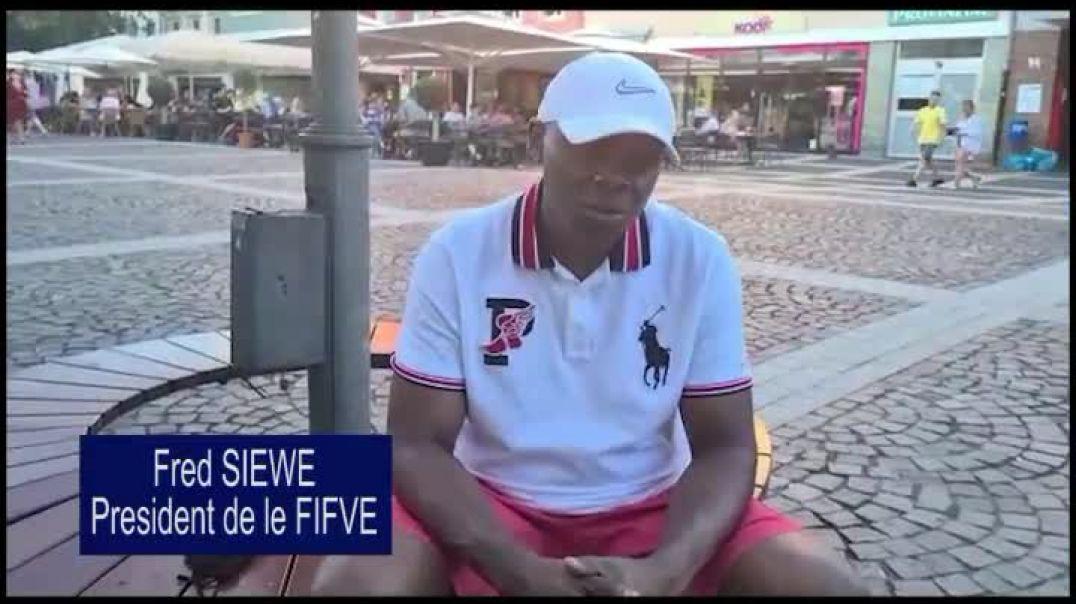 [Cameroun] Fred Siewe president de la Fifve nouz parle de la  par Vincent Kamto