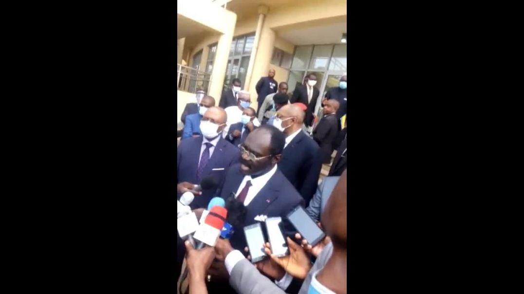 [Cameroun] réaction de Mouele Kombi Narcisse ministre des sportS par Vincent Kamto