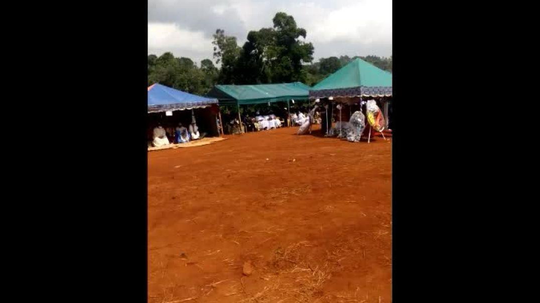 [Cameroun] obsèques du conseiller n1 au ministère des sports par Vincent Kamto