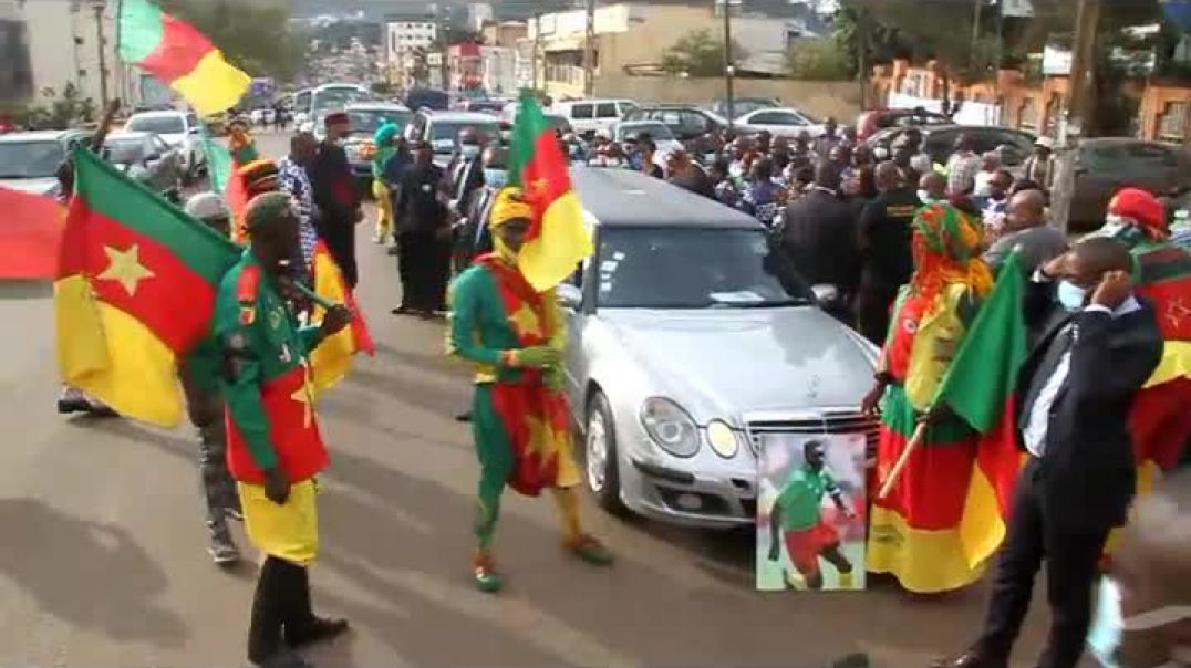 [Cameroun] le tour d honneur de la fecafoot out  tataw eta stehen  par Vincent Kamto