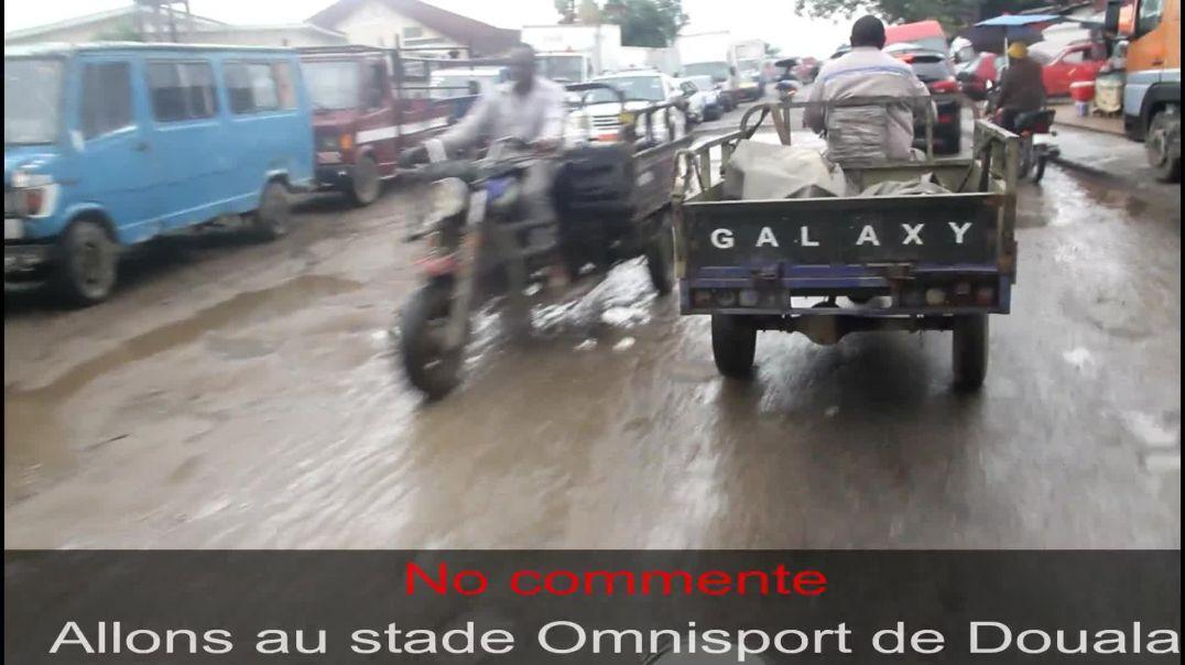 [Cameroun] voix d accès au stade omnisport de douala au 23 Octobre 2020