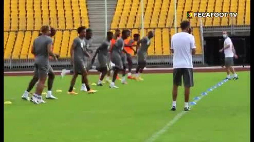 [Cameroun] séance d entraînement de ce mercredi 11 novembre