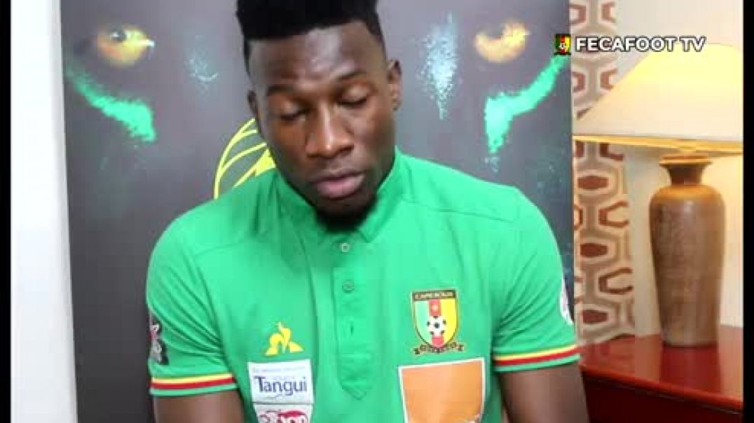 [Cameroun] André onana gardien des lions
