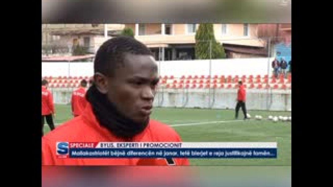 Djidjiwa devant la presse Albanaise