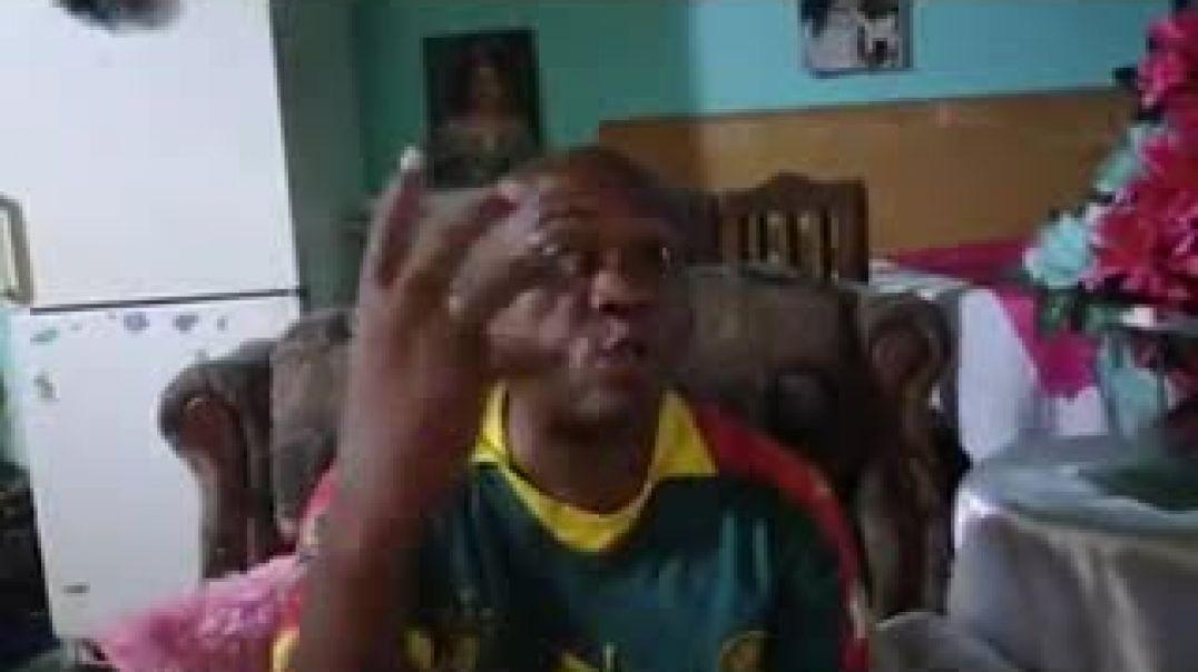 Cameroun contre Argentine le comédien Hoga refait le match