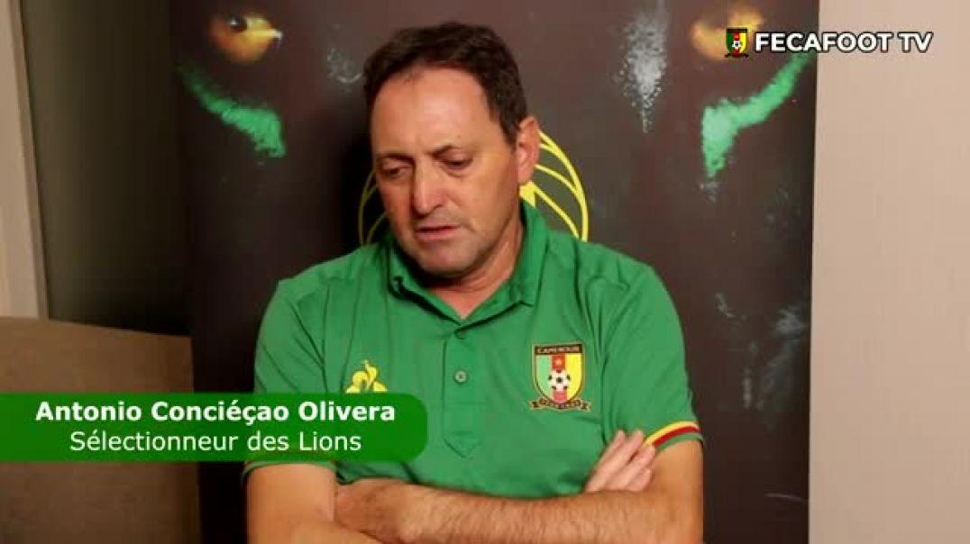 [Cameroun] Réaction du coach des lions a Maputo
