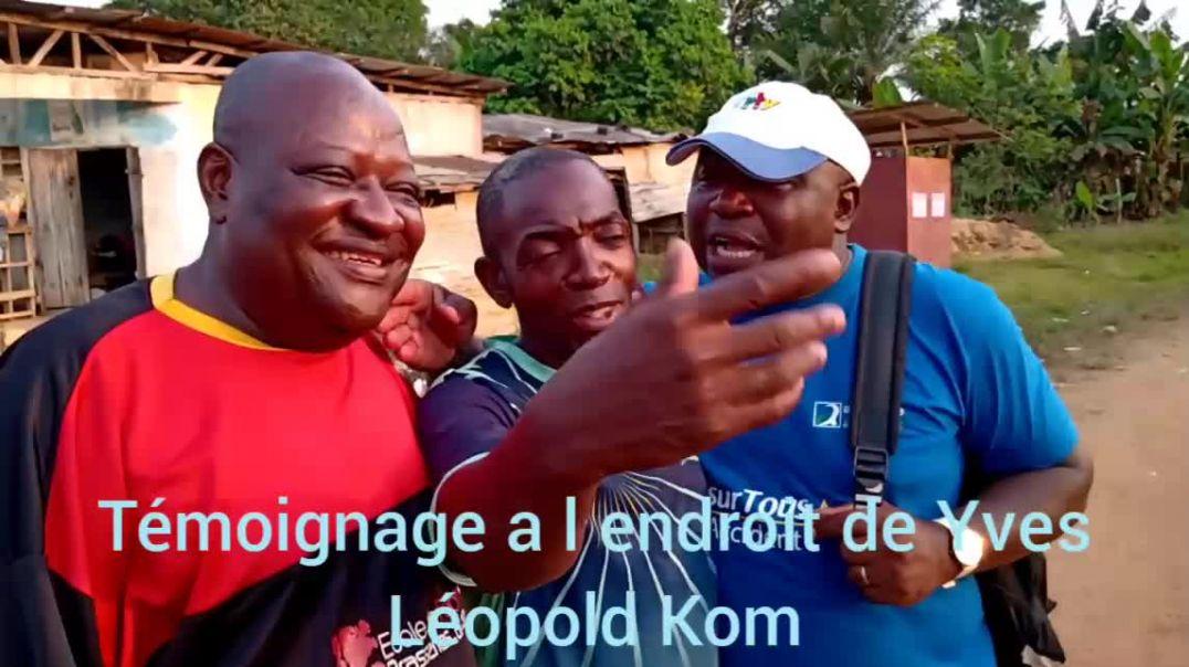 [Cameroun] Yves Léopold Kom le monument de la presse sportive