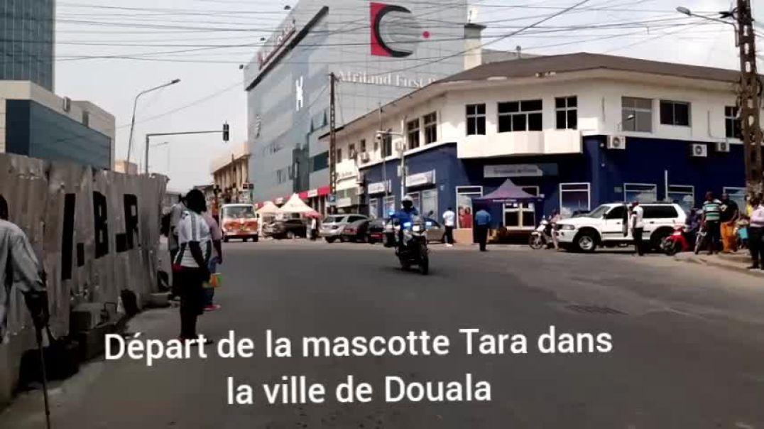 [CAMEROUN] départ de la mascotte Tara dans la ville de Douala