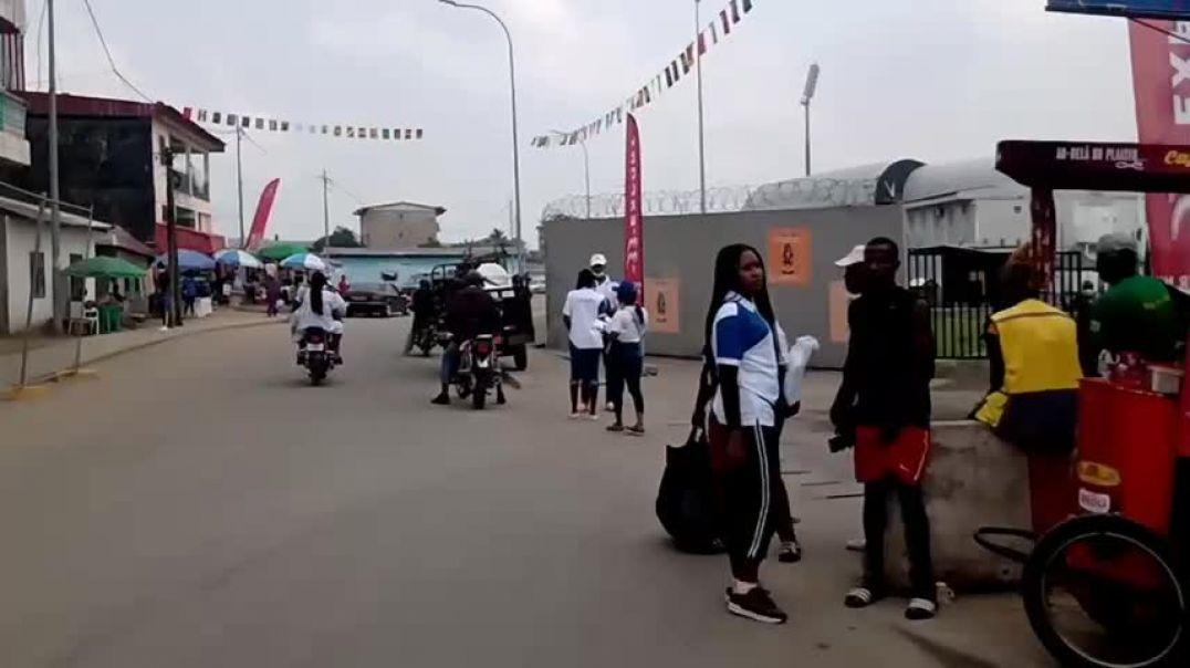[CAMEROUN]  chan2020Dla Stade de la Réunification de Douala 18 janvier 2021