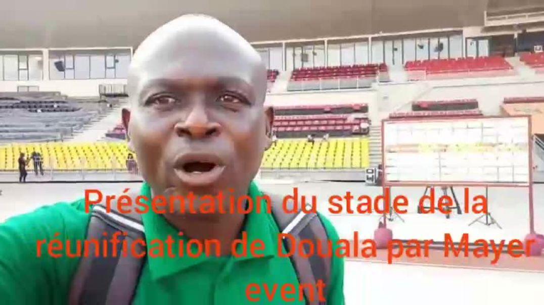 [CAMEROUN] chan2020Dla  présentation du stade de la réunification