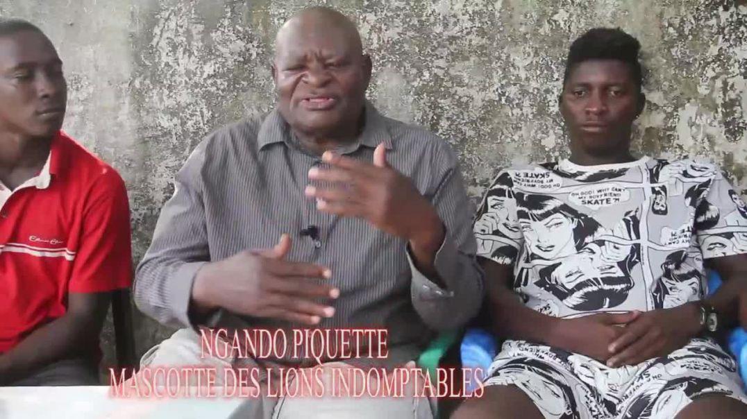 [Cameroun] Chan2020 Ngando piquette la mascotte des lion parle du chan