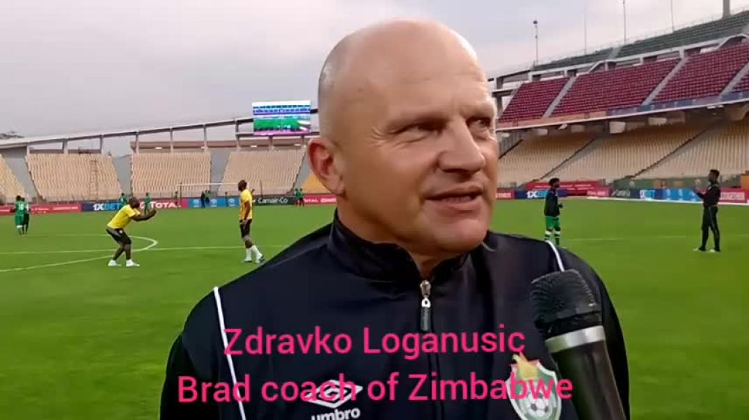 [Cameroun] chan2020 Zdravko Logarusic head coach of Zimbabwe National Football team