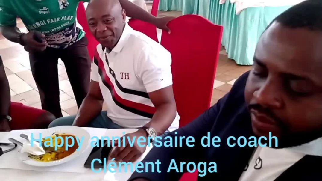 [Cameroun] chan2020 happy Anniversaire du coach Clément Aroga