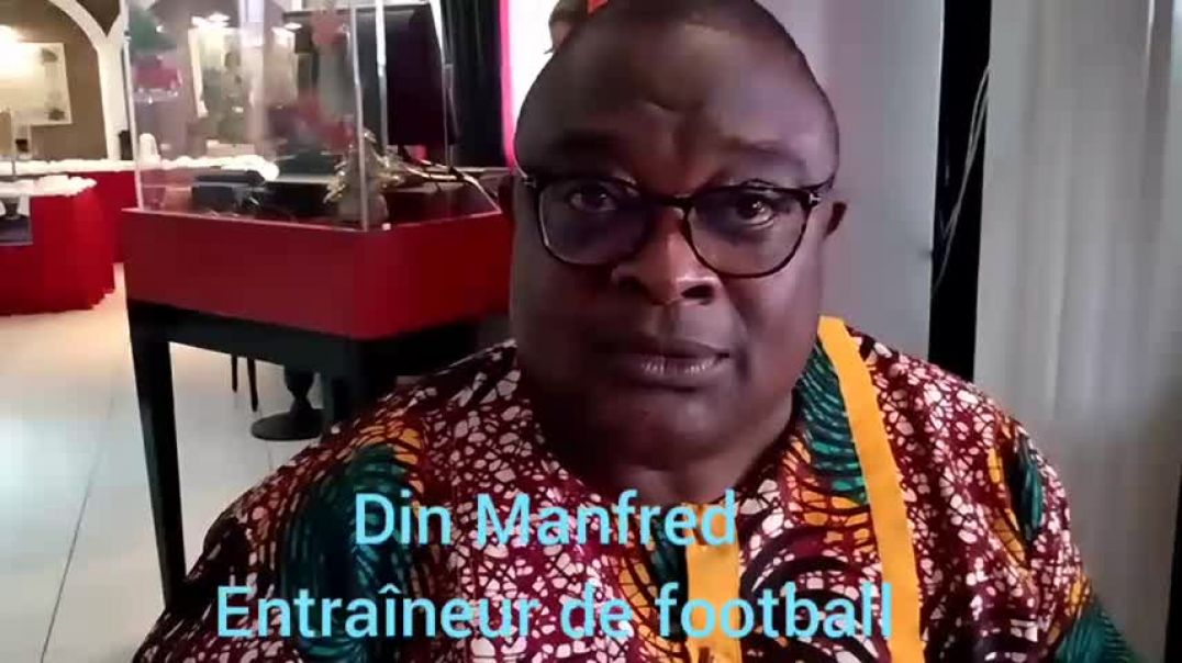 [Cameroun] Coach Din Manfred entraîneur de football