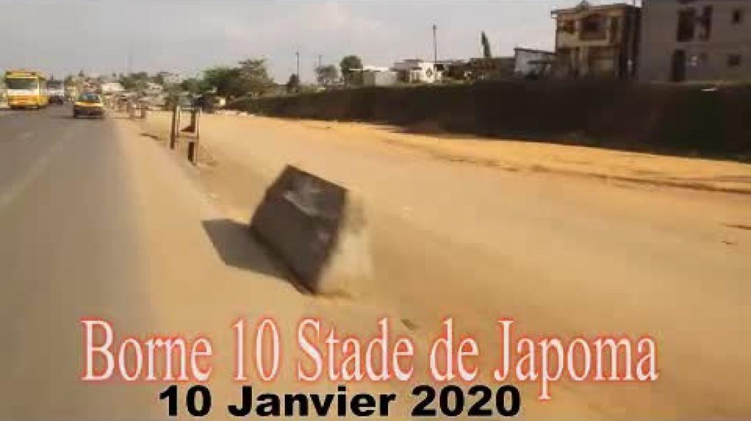 [Cameroun] Voie d accès au stade japoma 2021