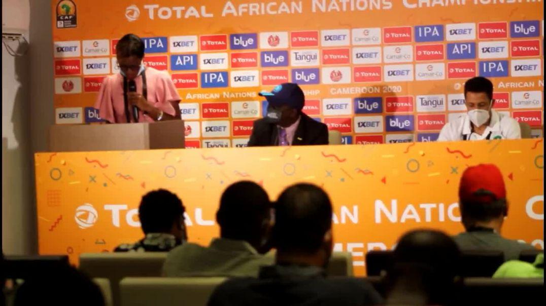 [Cameroun] chan2020mfandena conference d avant match entre le mali et le maroc