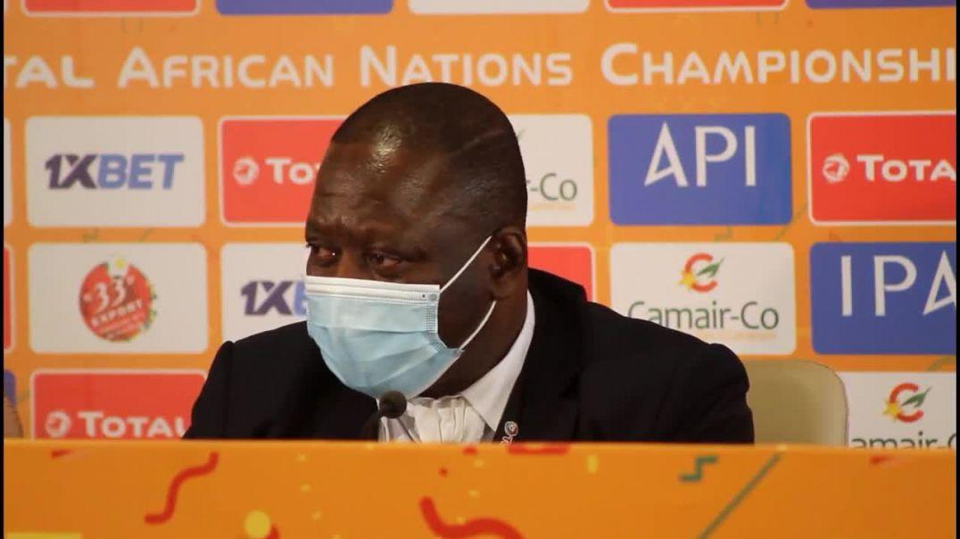 [Cameroun] chan2020j Bependa Mohamed Kanfori Bangoura entraineur sily Nationale  A prime