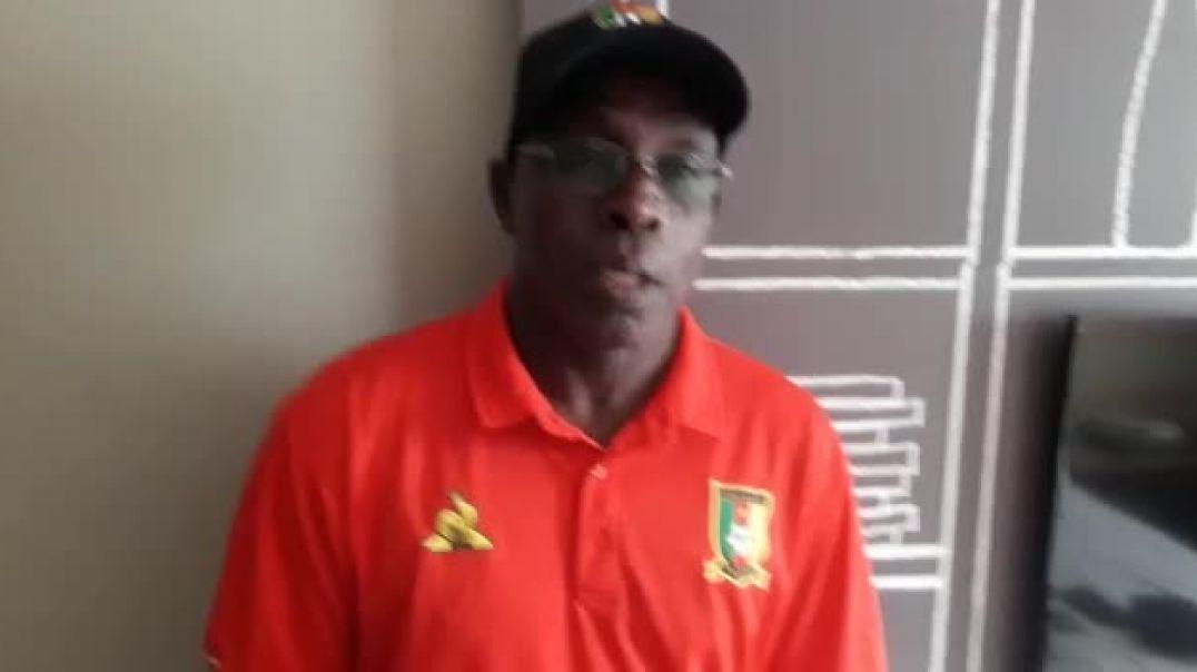 Christophe Ousmanou dresse le bilan du stage des U20 au Maroc