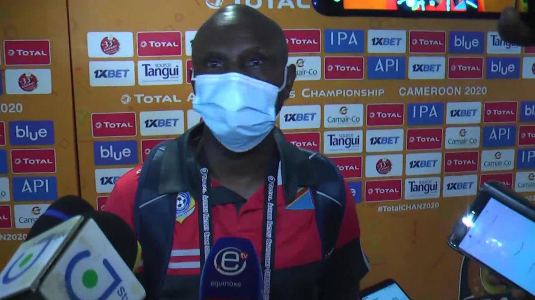 [CAMEROUN]chan2020 Réaction du coach Florent  Ibenge âpres la rencontre Cameroun Vs RDC
