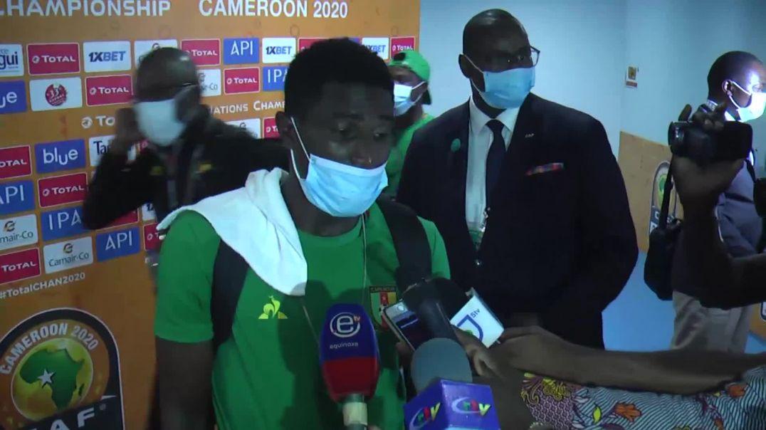 [CAMEROUN]  chan2020 Réactions des joueurs Camerounais après la Rencontre Cameroun Vs RDC