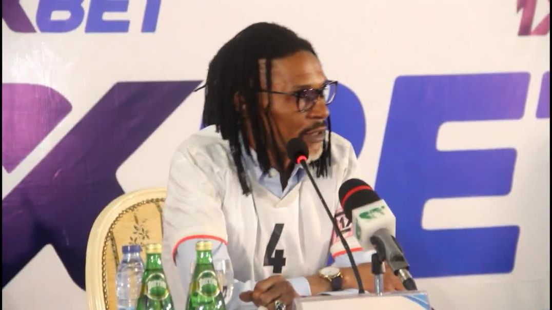 CAMEROUN Réaction de Rigobert Song Brand Ambassador 1Xbet