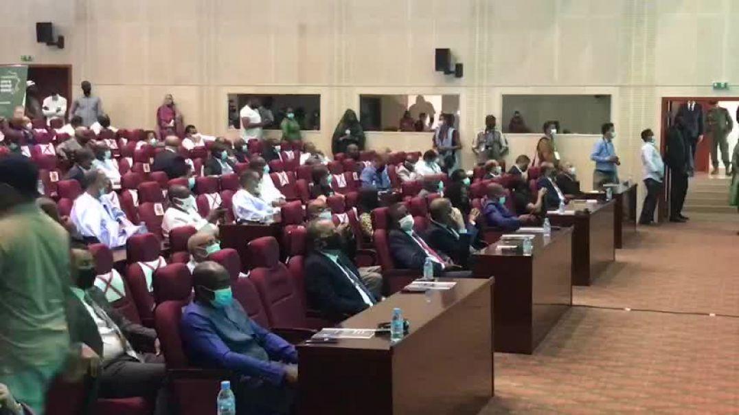 Conférence de presse d'Ahmed Yahya