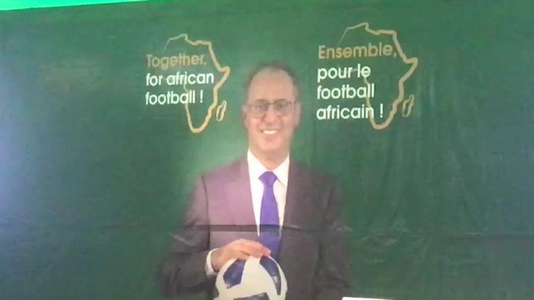 Ahmed Yahya candidat à l'élection CAF 2