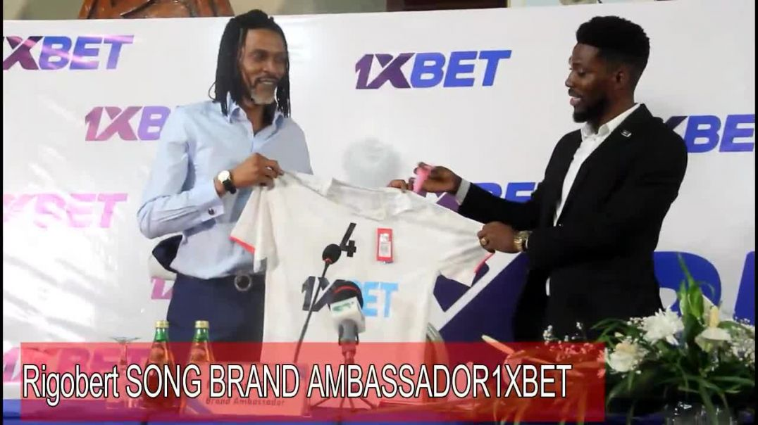 CAMEROUN Rigobert Song Brand Ambassador 1Xbet