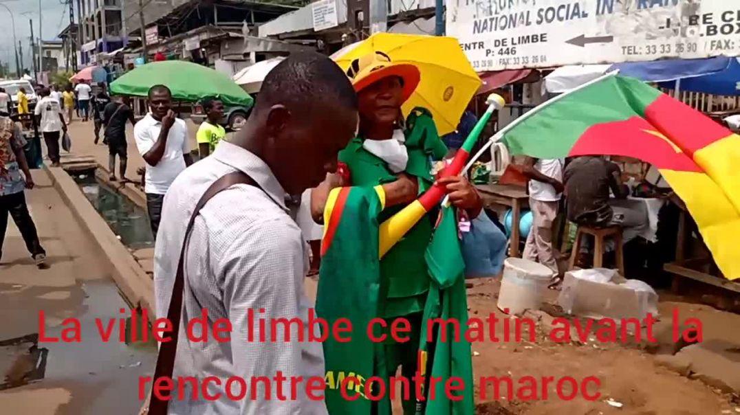 [Cameroun] chan2020limbe la ville de limbe ce matin avant le le match des Demi finale