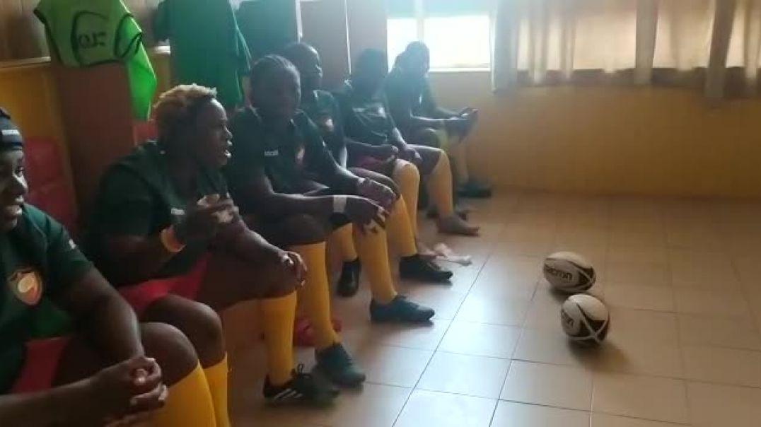 Ambiance au vestiaire à Ouagadougou