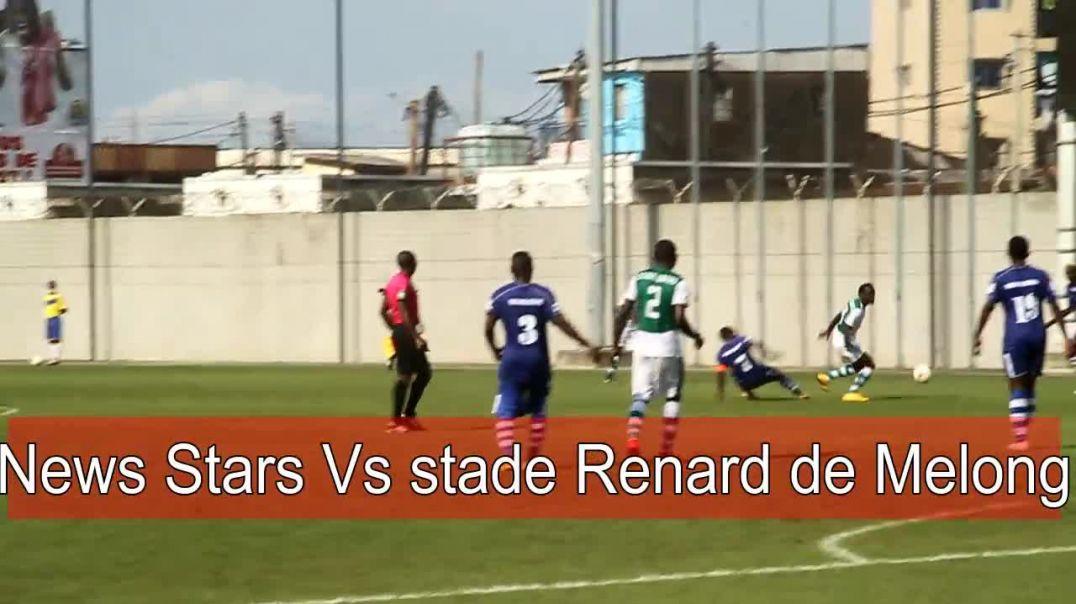 Rencontre news stars Vs stade renard de Melong
