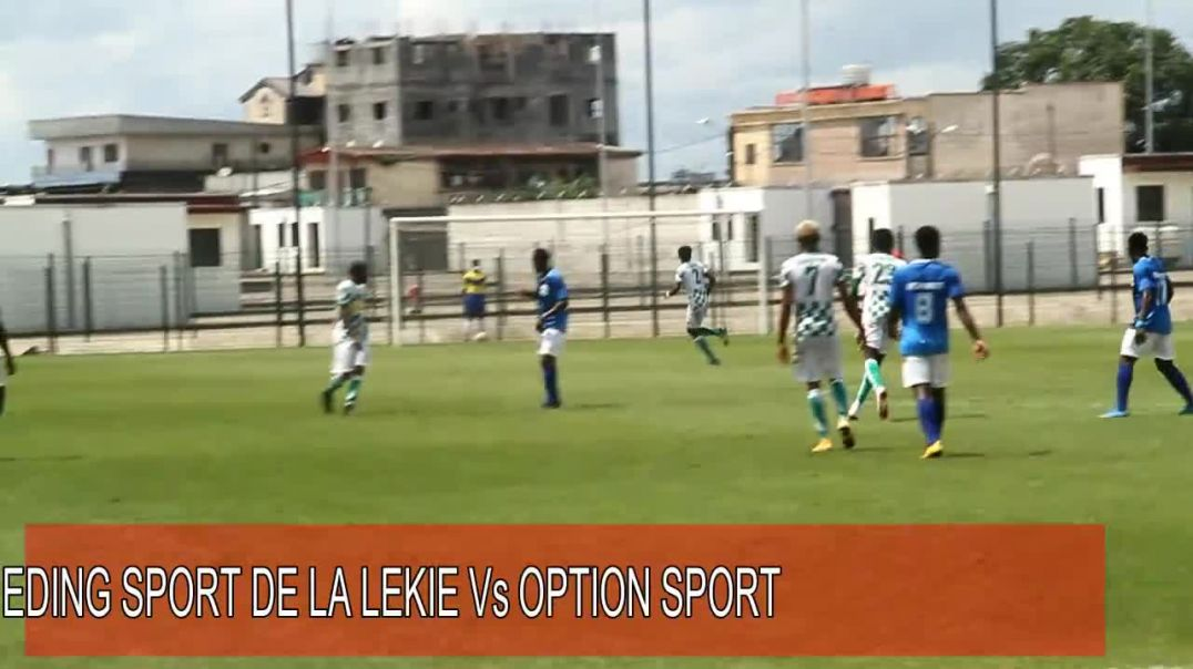 [CAMEROUN] Rencontre 16e de finale de la coupe  du Cameroun EDING Vs  OPTION SPORT