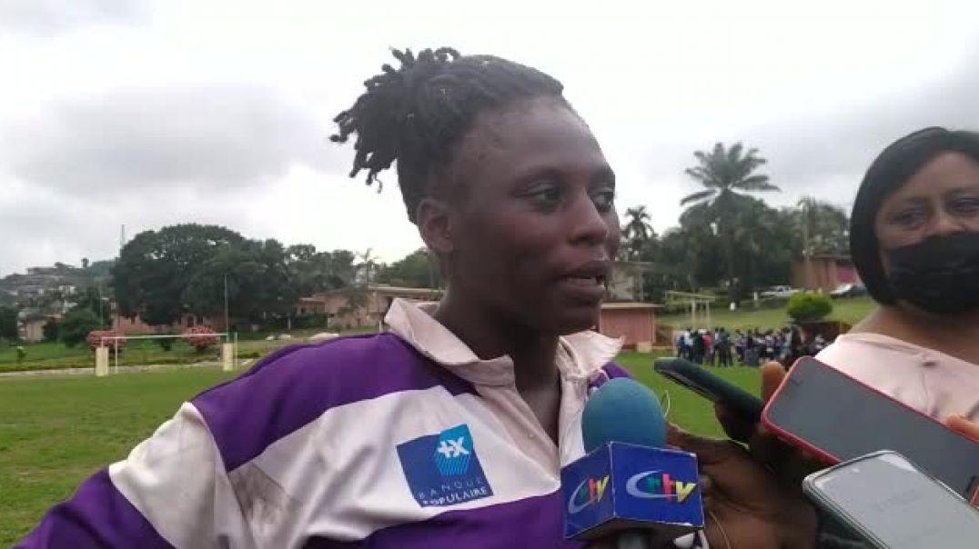 La déception d'une joueuse de Ngon academy après la défaite face à addax