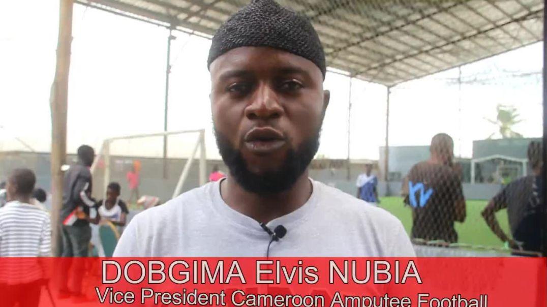 CAMEROUN Reaction de DOBGIMA Elvis  Vice President de la Cameroon National Amputee football