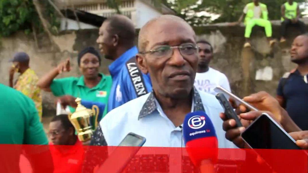 CAMEROUN Réaction du président pas Intérim de la ligue du littoral