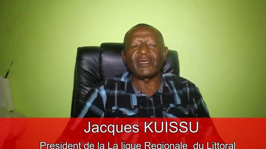 CAMEROUN Réaction du président jacques Kuissu de la Fecacyclisme Littoral