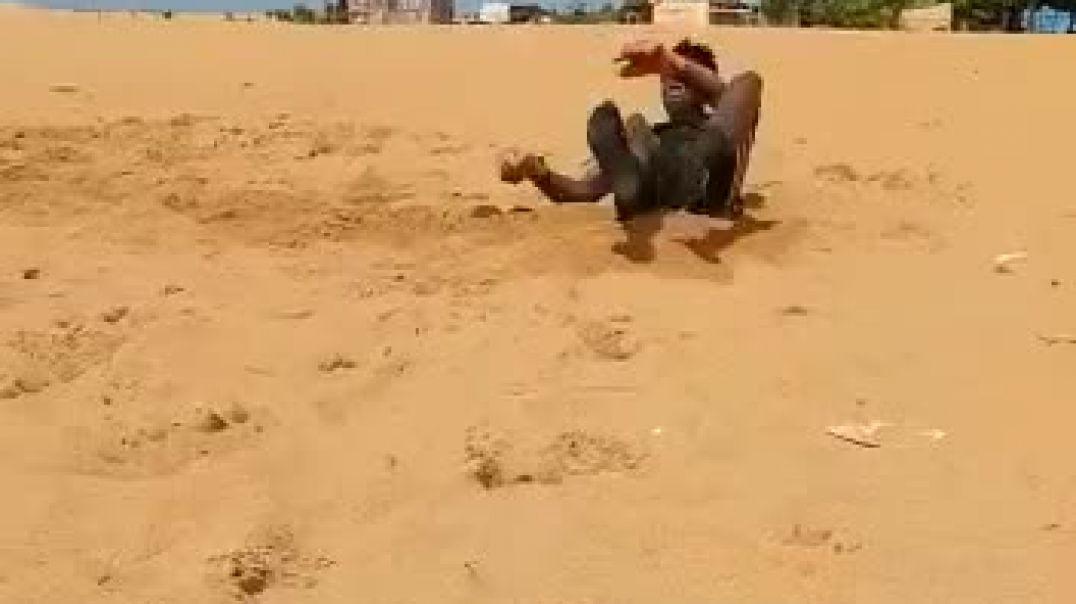 Akora Abuè séance spécifique à la plage de lome