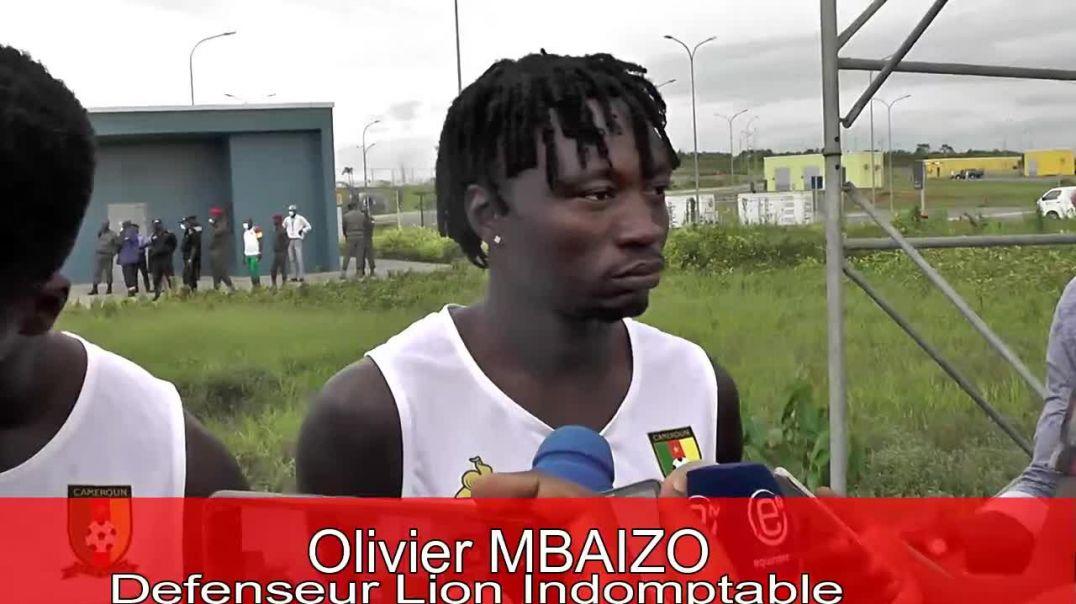 Cameroun réaction de Olivier Mbaizo défenseur des Lions indomptables