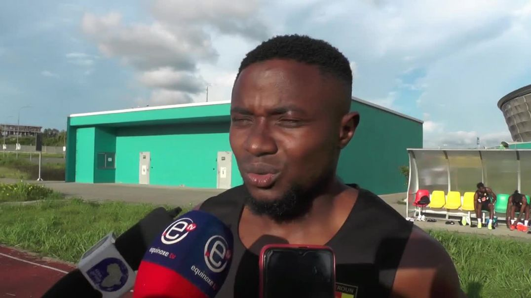 Cameroun Fai collins Confiant pour la rencontre Cameroun Mozambique