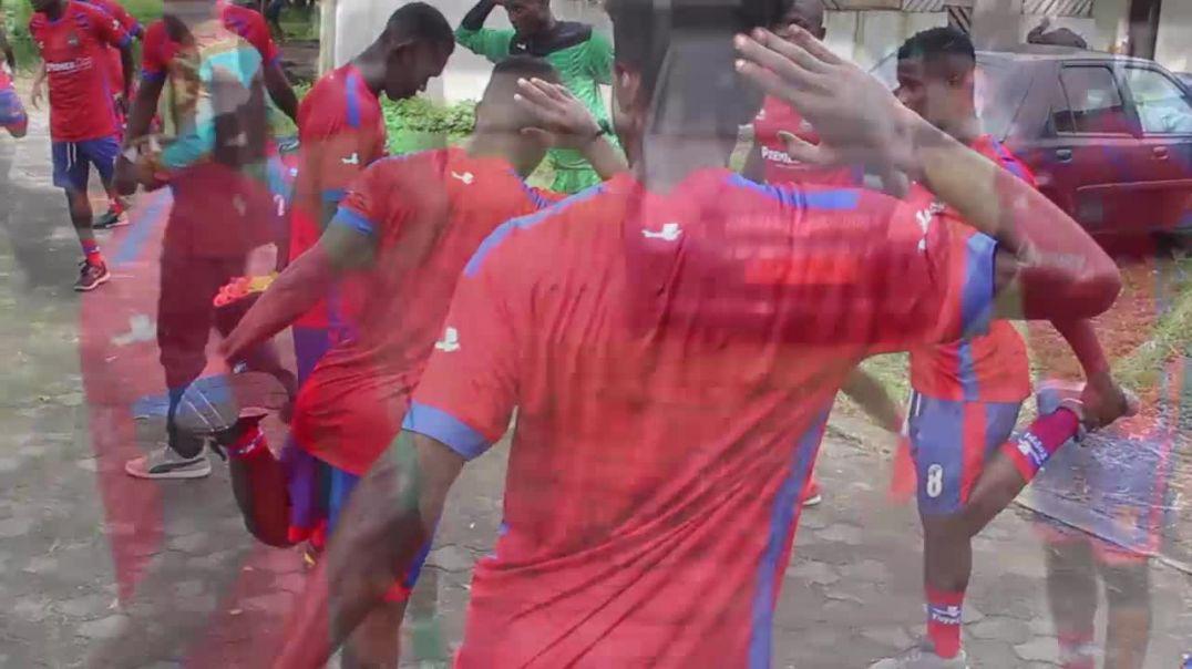 Cameroun Entrainement de bamboutos FC  de ce jour bependa
