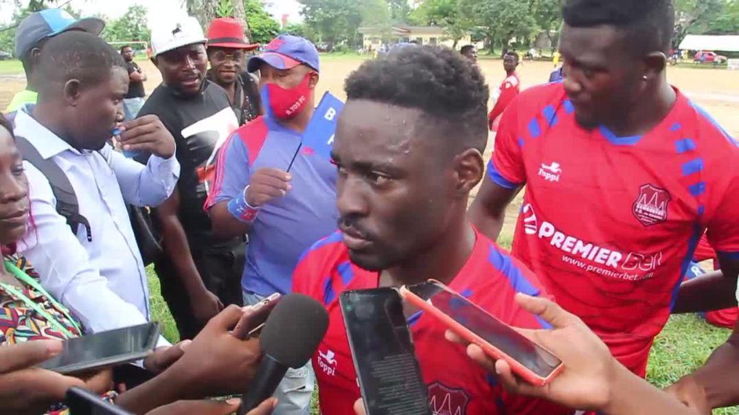 Cameroun Harry Ako Oru joueur Bamboutos FC de Mbouda