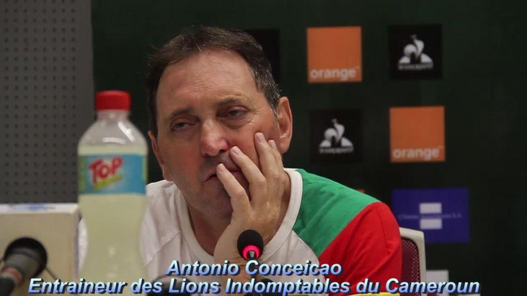 Cameroun Antonio Conceicoa Coach des lions Indomptables du Cameroun