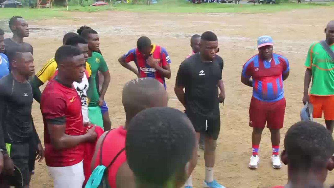 Cameroun je n ai pas peur de la pression je n ai pas peur de travailler a mbouda Alexandre Belibi