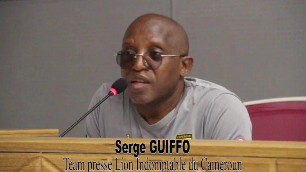 Cameroun Conférence d avant Match Cameroun Vs Mozambique