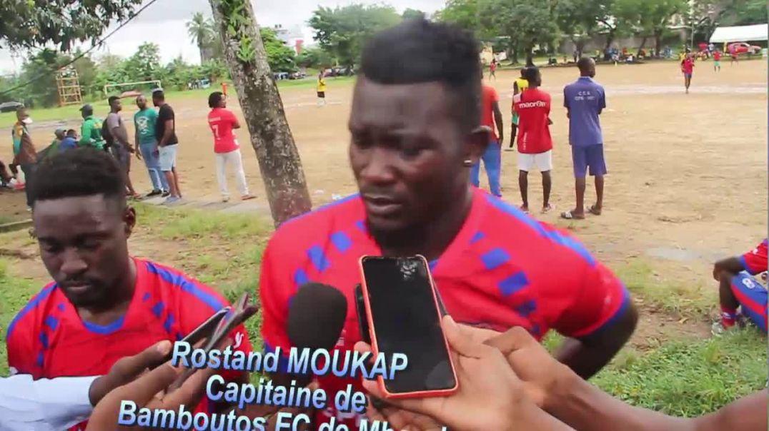 Cameroun Rostand Moukap Capitaine de Bamboutos FC de MBouda