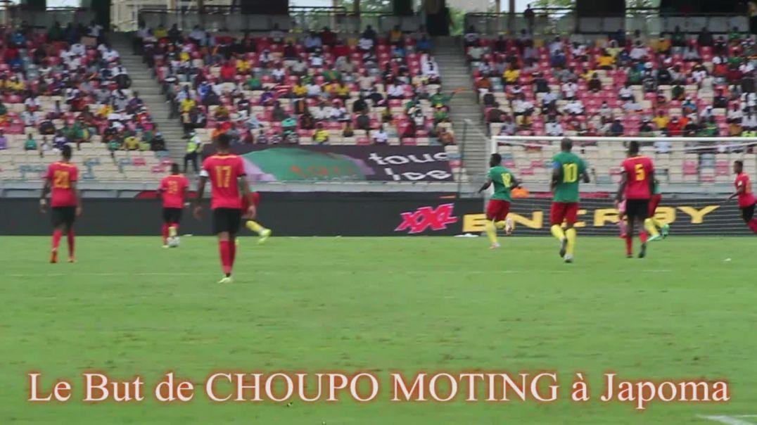 Cameroun Le But de Choupo Moting a Japoma face au Mozambique