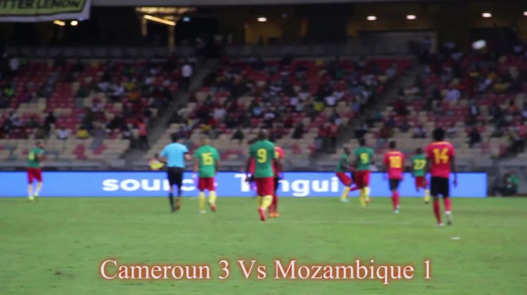 Cameroun La rencontre Cameroun Mozambique